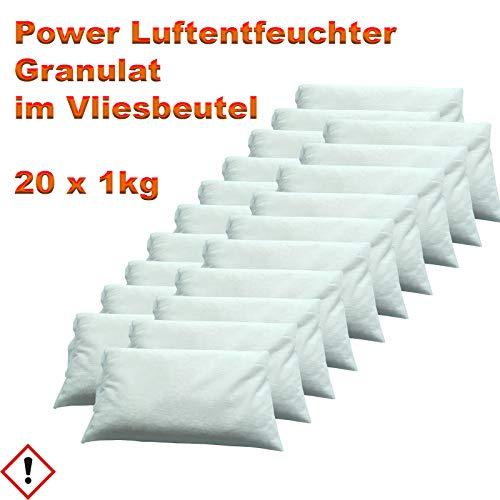 Luftentfeuchter Granulat im Vliesbeutel 20 x 1 kg