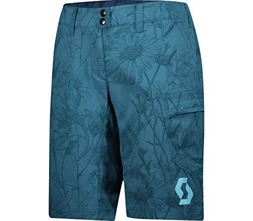 Scott Trail Flow Pro Damen Fahrrad Short Hose kurz (Inkl. Innenhose) blau 2020: Größe: XL (42/44)