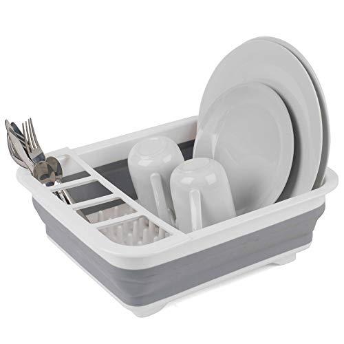Faltbare Geschirrabtropfschale, grau, LA031051 von Beldray®