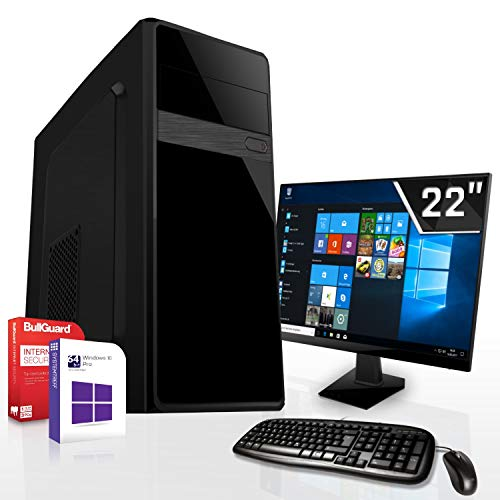 Komplett PC-Paket Set • AMD FX-9830 4X3.0GHz • 8GB DDR4 • 256GB M.2 SSD und 1TB •Radeon DirectX 12 HDMI • WLAN • USB 3.1 • Win10• 22 Zoll LED TFT • Computer