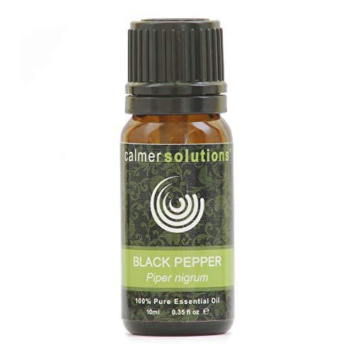 Calmer Solutions Pimienta Negra 100% Aceite De Aromaterapia Esencial Puro 10ml