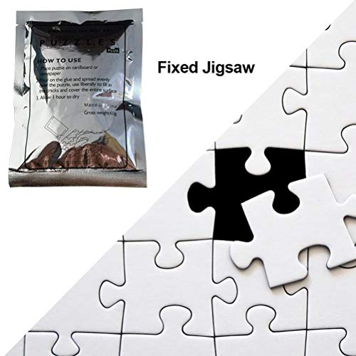 Pegamento Especial de 25 ml para Puzzle, Pegamento Profesional para Puzzle, Pegamento Transparente para Puzzle, Pegamento Autoadhesivo para Puzzle, Reparación de Puzzle, Accesorios para Puzzle