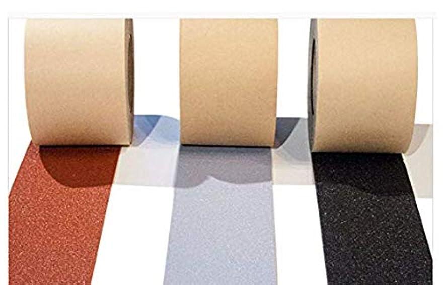 回転静める暖かく幅10センチ栗色、階段、床の滑り防止(すべり止めテープ 滑り止めテープ)トラスコ ノンスリップテープ 屋外用 10mmX15m
