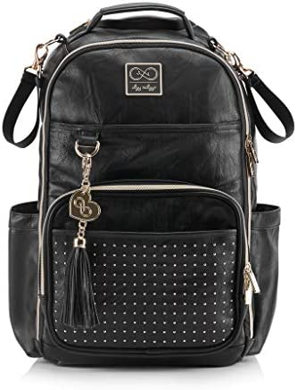 Chelsea Cole for Itzy Ritzy Diaper Bag Backpack Studded Boss Backpack Diaper Bag Includes 19 product image