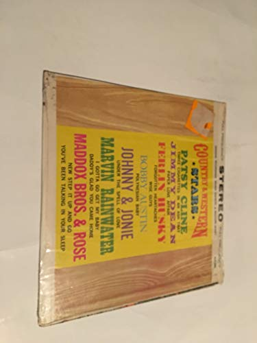 COUNTRY AND WESTERN STARS VINYL LP RECORD ALBUM...