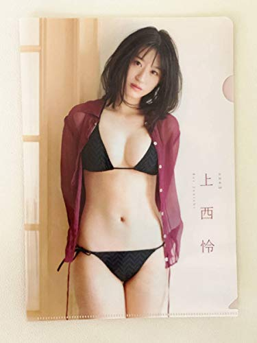 NMB48 上西怜 両面クリアファイル (漫画アクション 2020年616号 特別付録)
