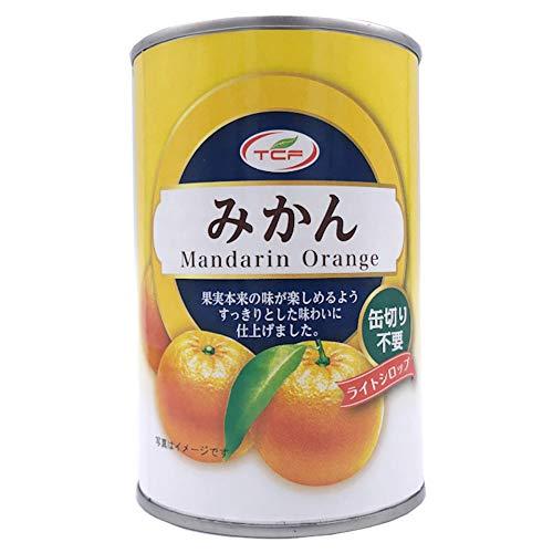 TCF みかん缶詰 425g×24缶 5号 1ケース マンダリンオレンジ フルーツ 缶詰め 業務用 まとめ買い