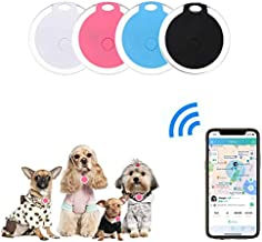 4 Pack Smart Key Finder Locator, GPS Tracking Device for Kids Pets Keychain Wallet Luggage Anti-Lost Tag Alarm Reminder Se...