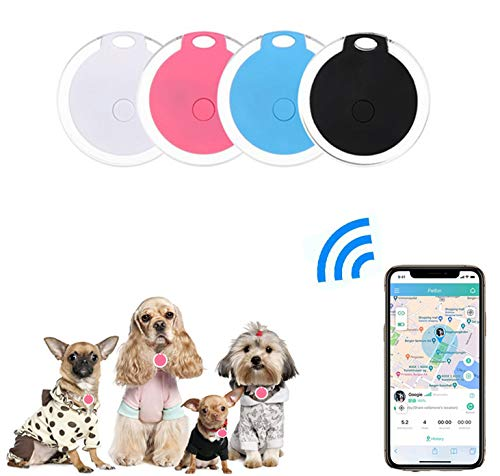 4 Pack Smart Key Finder Locator, GPS Tracking Device for Kids Pets Keychain Wallet Luggage Anti-Lost...