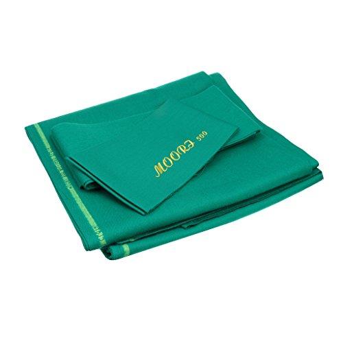 MagiDeal Billardtuch - Pool Billard Tuch Tischdecke Für 9ft Billardtisch - Grün