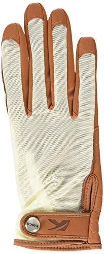 Kasco Damen Tan Fit Golfhandschuh für rechte Hand, Toffee, L