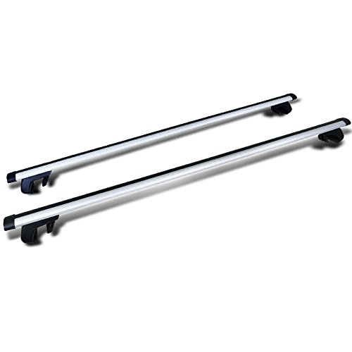"Spec-D Tuning 53"" Auto Suv Car Roof Top Cross Bars Luggage Cargo Rack Pair"