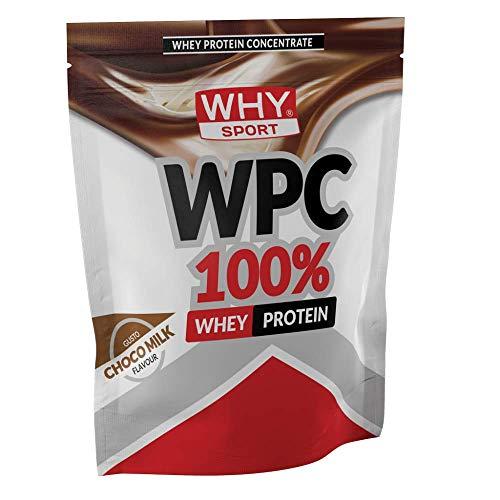 WHY SPORT WPC 100% WHEY PROTEIN 1 KG Choco Milk