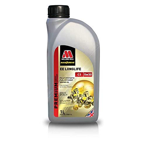 Millers Oils EE Longlife 5w30 C3 SN LL04 Dexos 2 225.51 505.01 502.00 Motorolie, 1 liter