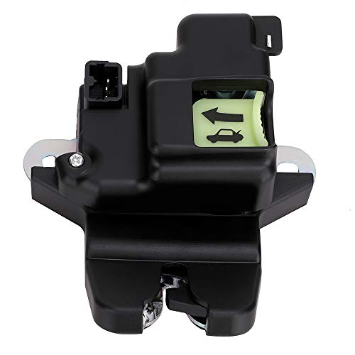 Tailgate Latch Lock Actuator Motor Tail Gate Trunk Latch For Hyundai Elantra Coupe 2.0L 1.8L Engine Years 2011 2012 2013 2014 2015 2016 - Replaces 81230-3X010 - Rear Trunk Lid Central Latch Assembly