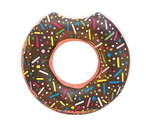 Schmelterland Donut Schwimmring 107 cm Donutring braun Donut Ring ab 12 Jahren