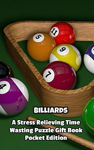 Billiards a Stress Relieving Time Wasting Puzzle Gift Book