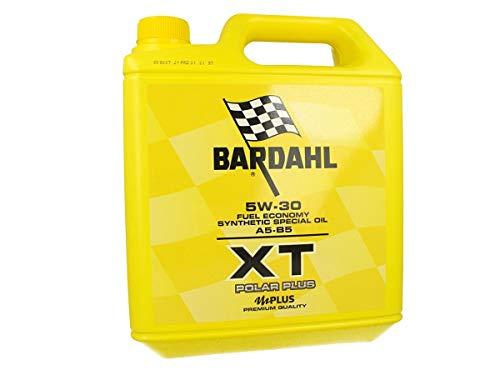 BARDAHL XT Polar Plus 5W30 A5 B5 Aceite de motor Lubricantes Lata de 5 litros