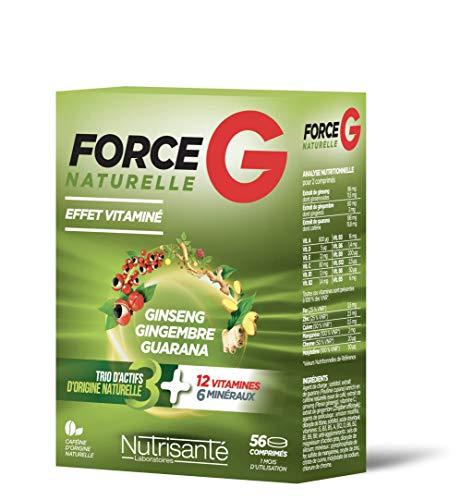 Nutrisanté Force G Naturelle Multi-Vitamines/Minéraux 56 Comprimés