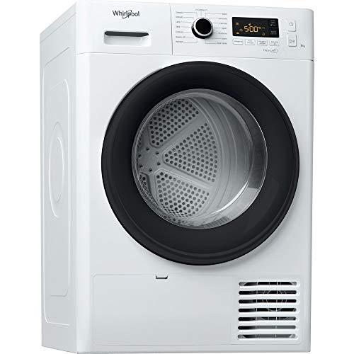 Whirlpool FT M11 8X3B IT - Asciugatrice a Condensazione 8 kg, Classe A++, Pompa di calore