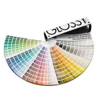 Carta de colores Brillo | NCS 1950 colores Glossy | Paleta de colores para lacados, maderas, pinturas y productos de decoración con acabado brillo