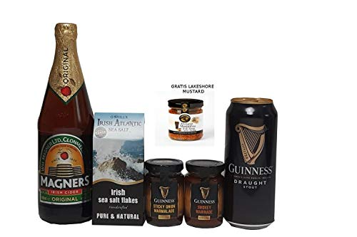 Irlands Würze. 6 irische Würzspezialitäten inkl. GRATIS Lakeshore Mustard