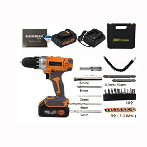 Buy Bargain 36V F Charging Drill Industrial Grade Hand Drill Pistol Drill Electric Screwdriver Lithi...