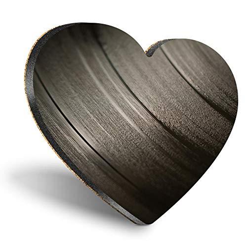 Posavasos con forma de corazón de MDF, discos de música de vinilo, retro, estilo vintage, con calidad brillante, protección de mesa para cualquier tipo de mesa #24399