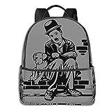 Charlie Chaplin - Sudadera con capucha para niños, diseño de película