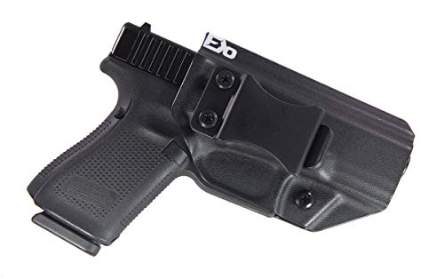 Fierce Defender IWB (Inside Waistband) Kydex Holster Compatible with Glock 19 23 32' Winter Warrior Series (Black) GEN 5 Compatible!