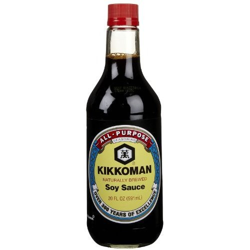 Kikkoman Naturally Brewed Soy Sauce 413934 of 12 2021 spring and Super intense SALE summer new oz 20 Pack