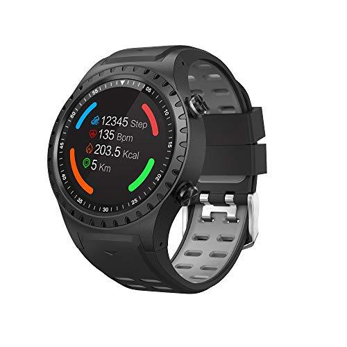 BINDEN Smartwatch M1S GPS, Multi-Sport con Ranura para SIM, Resistencia IP65, Frecuencia Cardiaca,…