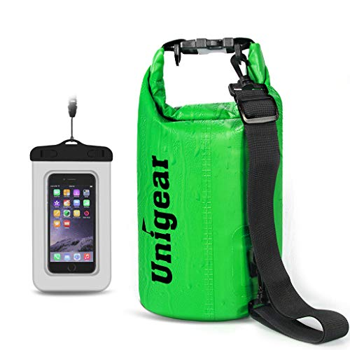 Unigear 600D Dry Bag 2L/5L/10L/20L/30L/40L Waterproof Sack with Phone Dry Bag...