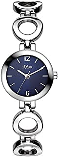 s.Oliver Femme Quartz Montre avec Bracelet en Alliage SO-3015-MQ