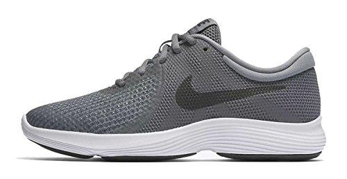 Nike Nike Herren Revolution 4 (GS) Sneakers, Mehrfarbig (Dark Grey/Black/Cool Grey/White 001), 39 EU
