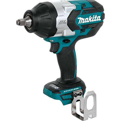 Makita XWT08Z  LXT Lithium-Ion Brushless Cordless High Torque Square Drive Impact Wrench, 18V/1/2'