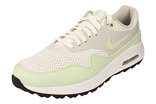 Nike Air Max 1 G Heren Golf Schoen CI7576 Sneakers Schoen (uk 7 us 8 eu 41, white jade neutral grey 111)