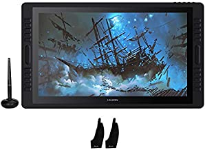 Huion KAMVAS Pro 22 Graphic Drawing Monitor Pen Display Tilt Function Battery-Free Stylus 8192 Pen Pressure with 20 Express Keys and 2 Touch Bars - 21.5 Inches