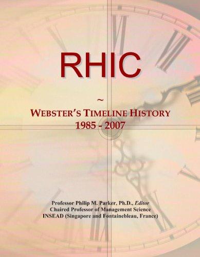 RHIC: Webster's Timeline History, 1985 - 2007