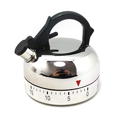 Temporizador de cocina Temporizador de cocina digi Forma caldera herramienta de la cocina Gadgets Recordatorios de cocina Herramientas alarma de cuenta regresiva Recordatorio 60 minutos tempor