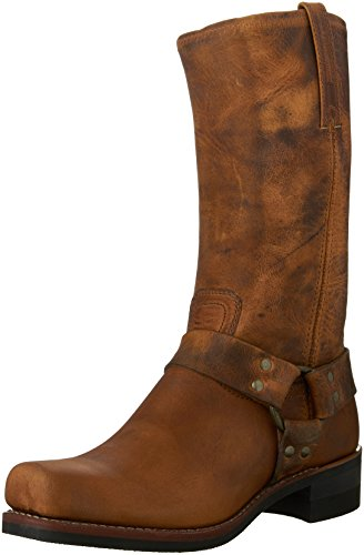 FRYE Men's Harness 12R Boot,Dark Brown-87350,8 M US