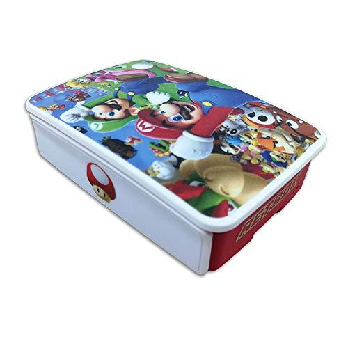 RetroK Case Raspberry + Set Stickers + Disipadores PI3B+ PI3B PI2  Super Mario Bros