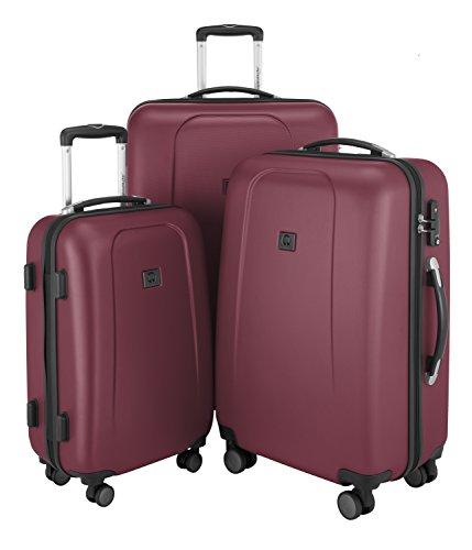 HAUPTSTADTKOFFER® Set di valigie · (103.0;67.0;42.0 liters) · TSA BLOCCO · ROSSO (Rosso)