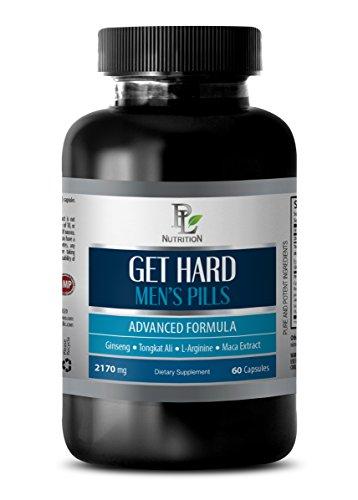 Male Enhancing Pills Erection Best Seller - GET Hard - Mens Pills - Advanced Formula - l-arginine Fitness Labs - 1 Bottle (60 Capsules)