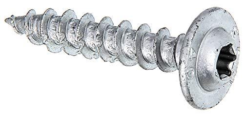GAH-Alberts 338381 Holzschrauben Speed | Ruspert silber | Ø7 x 40 mm | 50er Set