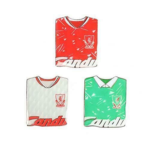 Liverpool FC Retro Badge Set