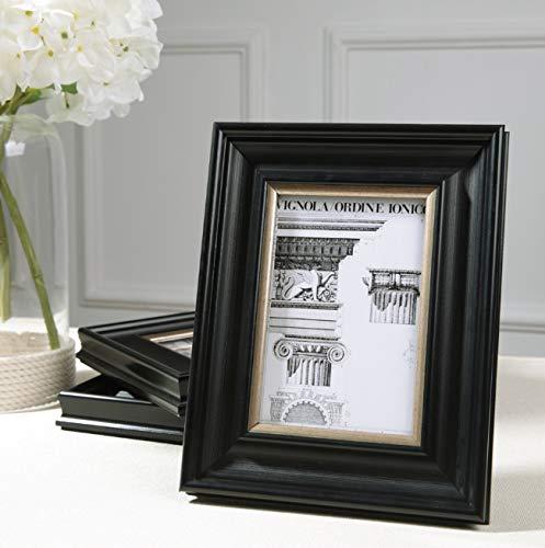 Foto Frame Houten Baby fotolijst Home Desktop Slaapkamer Nachtkastje Decoratie Zwart 6 Inch