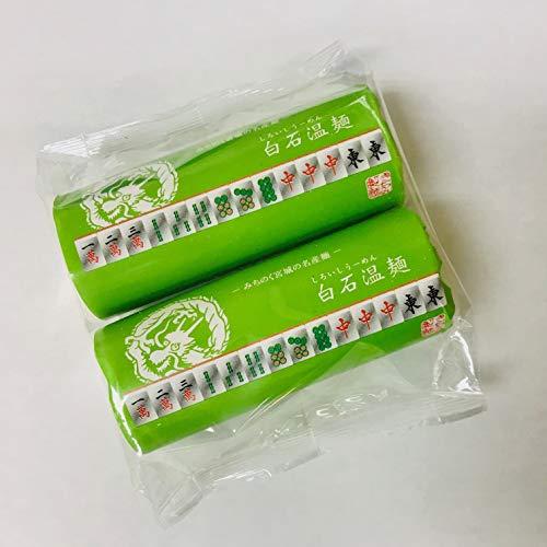 麻雀柄白石温麺 1袋・200g