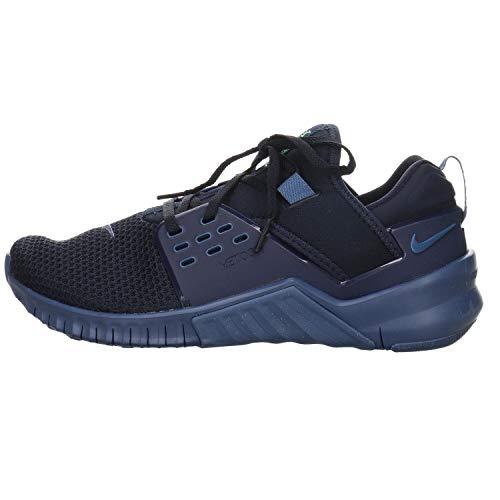 Nike Free X Metcon 2 Men's Training Shoe Obsidian/Electric Green-Mystic Navy 7.5