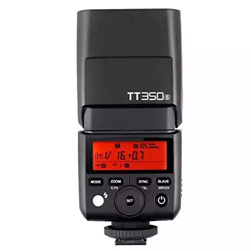 Godox Thinklite TTL TT350S Mini Flash de la cámara 1 / 8000s de Alta Velocidad GN36 para la cámara sin Hilos DSLR de Sony A77II A6000 A6500 Serie RX10 con el difusor de NAMVO